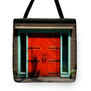 Old Wooden Doors Tote Bag