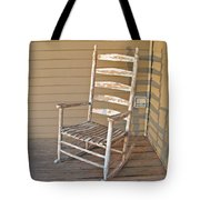 Old  Wooden  Rocking  Chair Tote Bag