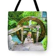Old Wooden Water Wheel  Tote Bag
