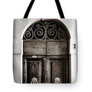Old World Door Tote Bag