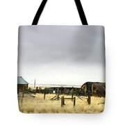 Old Wyoming Farm Tote Bag