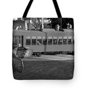 Old Ybor City Trolley Tote Bag