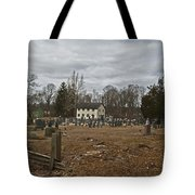 Old Yellow Meeting House Tote Bag