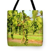 Old York Winery Grapes Tote Bag