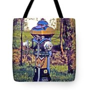 Oldenburg Fireplug Tote Bag