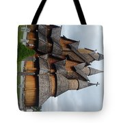 Oldest Church In Norway Tote Bag