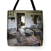 Oldest School House C. 1863 - Montana Territory Tote Bag