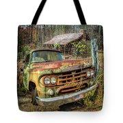 Oldie But Goodie 1959 Dodge Pickup Truck Tote Bag