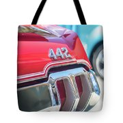 Olds 442 Classic Car Tote Bag