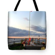 Ole Glory At Rossetti Point  Tote Bag