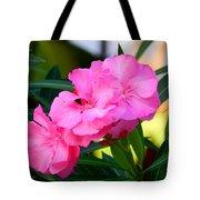 Oleander Blooming Tote Bag
