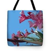 Oleander Flowers Wilting In The Brutal Florida Sun    Tote Bag