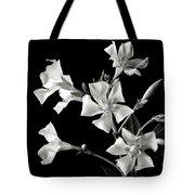 Oleander In Black And White Tote Bag