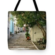 Oleander Steps Tote Bag