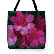 Oleanders In Pink Tote Bag