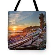 Olhos D'agua Village Sunset Tote Bag