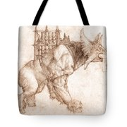 Oliphaunt Tote Bag by Curtiss Shaffer