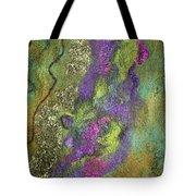 Olive Garden With Lavender Tote Bag