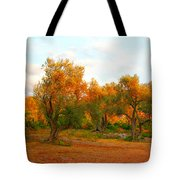 Olive Tree Forest Tote Bag