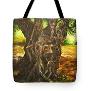 Olive Tree Rooted 1 Tote Bag