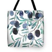 Olive Watercolor 2018 Tote Bag