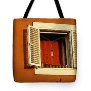 Olive Window Tote Bag