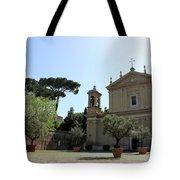 Olive Wood Trees Tote Bag