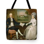 Oliver And Abigail Wolcott Ellsworth 1801 Tote Bag