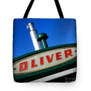 Oliver Tractor Nameplate Tote Bag