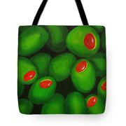 Olives Tote Bag by Micah  Guenther