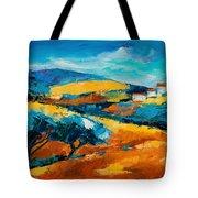 Oliviers En Provence Tote Bag