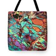 Olivine Marble Tote Bag