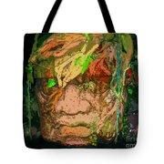 Olmec Man Tote Bag