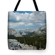 Olmsted View Down The Tree Filled Road Tote Bag