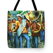Olympia Brass Band Tote Bag