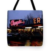 Olympia Diner Tote Bag