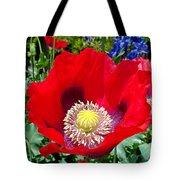 Olympia Poppy Tote Bag