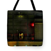 Olympic Club At Night Tote Bag