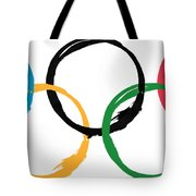 Olympic Ensos Tote Bag