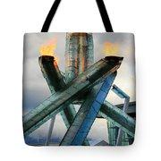 Olympic Flame Tote Bag