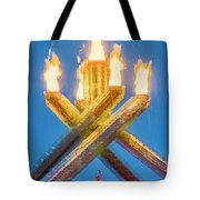 Olympic Gold Tote Bag