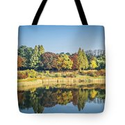 Olympic Park In Seoul Tote Bag