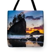 Olympic Sunset Tote Bag