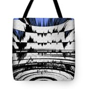 Olympics Abstract Tote Bag