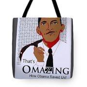 Omazing Obama 1.0 Tote Bag