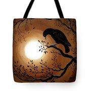 Ominous Bird Of Yore Tote Bag