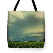 Ominous Nebraska Outflow 001 Tote Bag