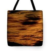 Ominous Orange Tote Bag