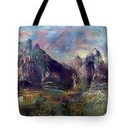 Ominous Sky Tote Bag