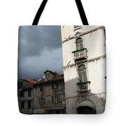 Ominous Sky In Croatia Tote Bag